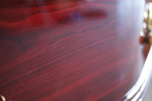 Majestic Rosewood Coffin