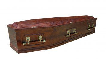 Antique coffin